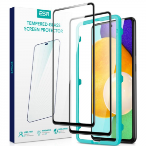 Samsung Galaxy A52 ESR 3D Tempered Glass Screen Protector - 2 Pack  MS000591