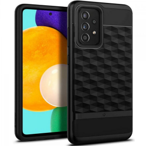Samsung Galaxy A52s - A52 5G Caseology Parallax Case Cover - Black MS000604