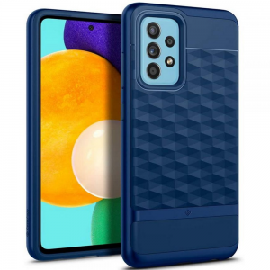 Samsung Galaxy A52s - A52 5G Caseology Parallax Case Cover - Blue MS000603