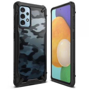 Samsung Galaxy A52s - A52 5G Ringke Fusion Camo Case - Black MS000544