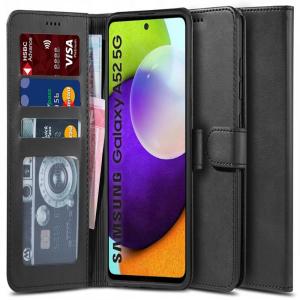 Samsung Galaxy A52s - A52 5G Tech-Protect Wallet Case - Black MS000535