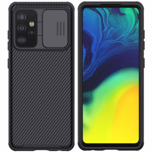 Samsung Galaxy A72 5G Nillkin CamShield Pro Cover Case - Black MS000600