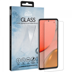 Samsung Galaxy A72 Eiger Tempered Glass Screen Protector - Clear  MS000589