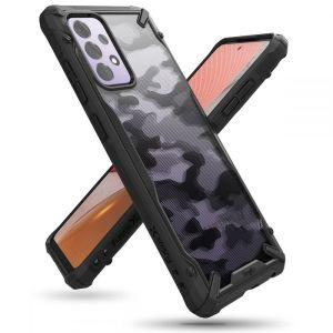 Samsung Galaxy A72 Ringke Fusion Camo Case - Black MS000519