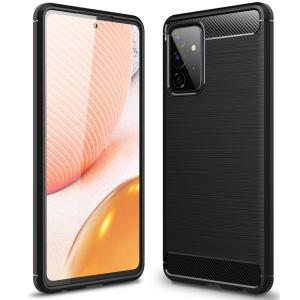 Samsung Galaxy A72 Tech-Protect Carbon Fibre Case - Black MS000570