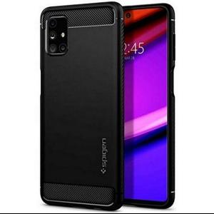 Samsung Galaxy M51 Spigen Rugged Amor Case - Matte Black MS000366