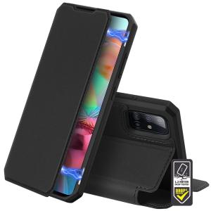 Samsung Galaxy M51 Tech-Protect Duxducis SkinPro Wallet Case - Black MS000365