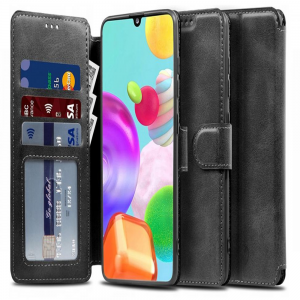 Samsung Galaxy M51 Tech-Protect Wallet Case - Black MS000364