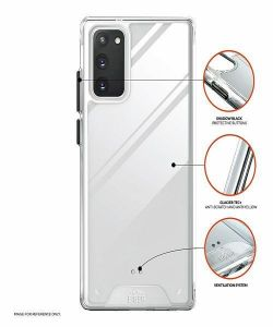 Samsung Galaxy S20 FE Eiger Glacier Case - Clear  MS000174