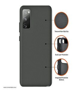 Samsung Galaxy S20 FE Eiger North Case - Black MS000175