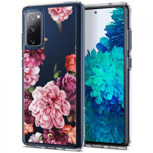 Samsung Galaxy s20 FE Spigen Cyrill Cecile Rose Floral Case - Clear  MS000374