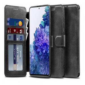 Samsung Galaxy S20 FE Tech-Protect Wallet Case - Ash Black MS000351
