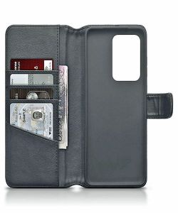 Samsung Galaxy S20 Ultra Genuine Leather Wallet Case - Black