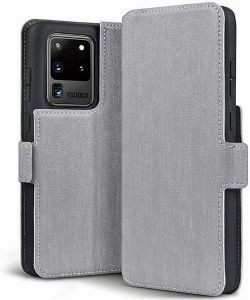 Samsung Galaxy S20 Ultra Wallet Case - Grey  MS000204