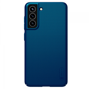 Samsung Galaxy S21 FE Nillkin Frosted Shield Cover Case - Peacock Blue MS000759