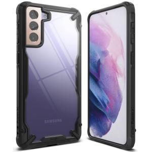 Samsung Galaxy S21 Plus Ringke Fusion Crystal Case - Black MS0004782