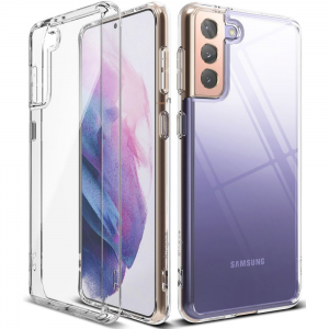 Samsung Galaxy S21 Ringke Fusion Crystal Case - Clear MS000479