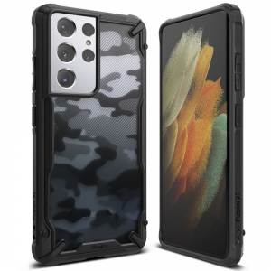 Samsung Galaxy S21 Ultra Ringke Fusion Camo Case - Black MS0004786