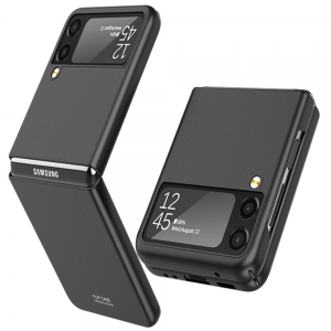 Samsung Galaxy Z Flip 3 5G Ultra-thin Hard Shell Case Cover - Black MS000944