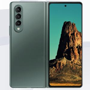 Samsung Galaxy Z Fold 3 5G Hydrogel Film Full Cover Screen Protector - Clear MS000841