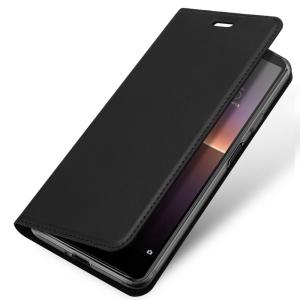 Sony Xperia 10 III Duxducis SkinPro Wallet Case - Black