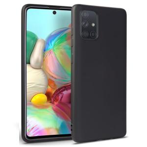 Samsung Galaxy M51 Tech-Protect Icon Silicone Case - Black  MS000361