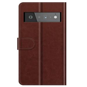 Tough-JAK Google Pixel 6 Pro Leather Case - Brown MS000925