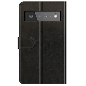 Tough-JAK Google Pixel 6 Pro Leather Style Case - Black  MS000924
