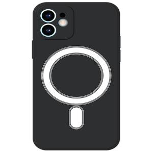Tough-JAK iPhone 13 Mini Magsafe Silicone Case - Black MS000970.