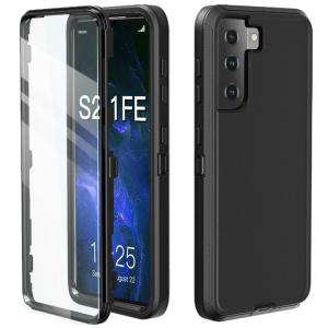 Tough-JAK Pro Anti-fall Samsung Galaxy S21 FE Case - Black MS000892