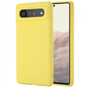 Tough-JAK Silky Smooth Google Pixel 6 Pro Silicone Case - Yellow MS000914