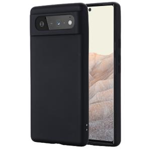 Tough-JAK Silky Smooth Google Pixel 6 Silicone Case - Black MS000920