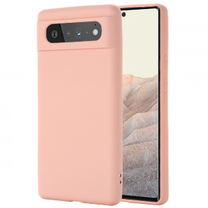 Tough-JAK Silky Smooth Google Pixel 6 Silicone Case - Pink MS000921