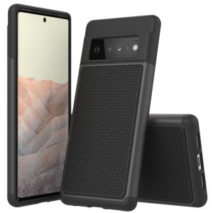 ToughJAK Pro Anti-fall Google Pixel 6 Pro Cover Case - Black MS000888