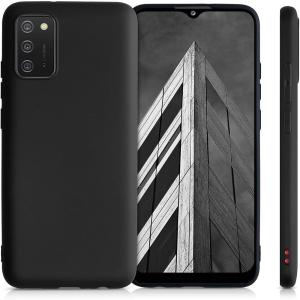 Xquisite Samsung Galaxy A03s Silicone Case - Black MS000913
