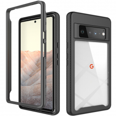 ToughJAK Shield Google Pixel 6 Pro Defence 360 Cover Case - Black MS000861