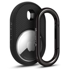 Apple Airtag Caseology vault Skin - Matte black MS000707