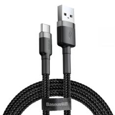 Baseus Cafule Type C Cable 200CM - Black MS000425