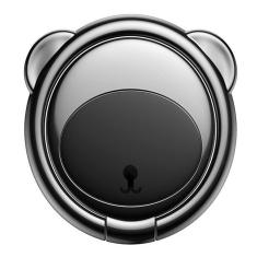 Baseus Magnetic Bear Phone Ring Holder - Black MS000326