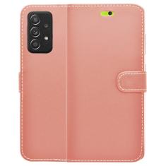 Samsung Galaxy A52s - A52 5G Smart Wallet Book Case - Pink MS000557