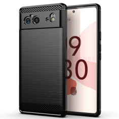 ToughJAK Google Pixel 6 Carbon Fiber Case - Black MS000886