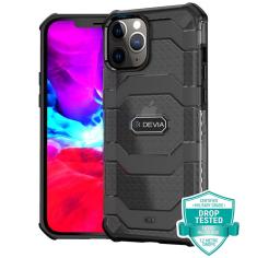 iPhone 12 - 12 Pro Devia Shockproof Guard Case - Black MS000290