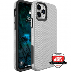 iPhone 12 - 12 Pro ProGrip Tough Case - Sliver  MS000292
