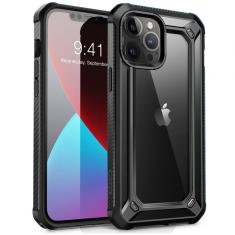 iPhone 12 - 12 Pro Supcase Unicorn Beetle Case - Black MS000284