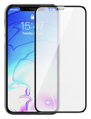 iPhone 12 Pro Max Devia 3D Anti-Fingerprint Tempered Glass Screen Protector- Clear MS000323