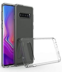 Minimalistic Protective Clear Case for Samsung Galaxy S10 Plus