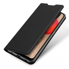 Samsung Galaxy A02s DuxDucis Skin Pro Wallet Case - Black MS000469