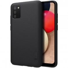 Samsung Galaxy A02s Nillkin Frosted Shield Case - Black MS000533