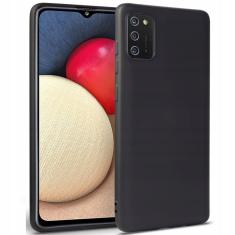 Samsung Galaxy A02s Silicone Icon Case - Black MS000531
