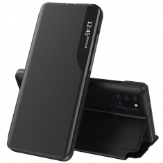 Samsung Galaxy A02s Tech-Protect Smart View Wallet Case - Black MS000507